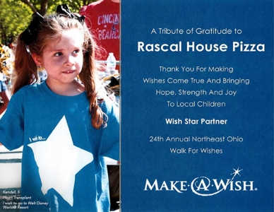 rascal house - Make a Wish - Wish Star partner