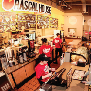 rascal house employees working at the counter